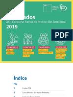 Proyectos Seleccionados FPA2019.v.2