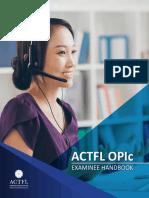 OPIc Examinee Handbook.pdf