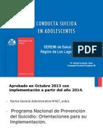 7. Suicida en Adolescentes