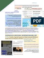 PIERWSZA WDOWA SKREMOWANEJ RP PDO657 Fraszka z OF von Stefan Kosiewski MORALIA  ZR ZECh SSetKh Dr hab. Tadeusz Kruczkowski Prof. Uniwersytetu w Grodnie 20190326 ME SOWA