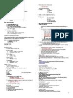 Pediatric Nursing Review 16pgs