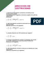Ejercicios de Electricidad (1)
