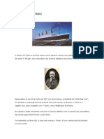 HISTÓRIA DO TITANIC