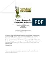 Garden Lessons for Primary School