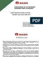 Analisis Organizacional Entidades Peruanas