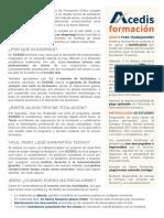 ACEDIS Formación SLU - Curso Básico de Excel para Financieros