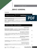 ÍNDICE - ACTUALIDAD PENAL n.° 57