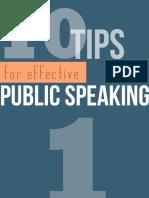 Public Speaking Converted
