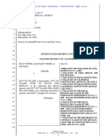 Filed Complaint Torres v City of Tulare