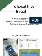 Curso Excel Nivel Inicial