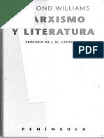 Marxismo y literatura.