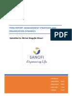 Sanofi - MOD Term Report.docx
