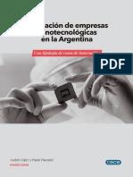 Empresas Nanotecnologicas Argentina