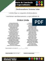 Relatório de Especialidades - Ordem Unida _08-09