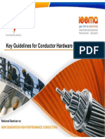 Guidelines for conductor installation