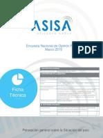 Encuesta ASISA marzo 2019