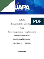 Tarea 1 Evaluacion de los aprendizajes.docx
