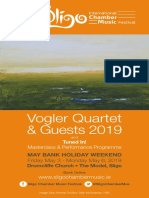 Sligo ICMF 2019 Brochure
