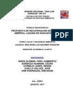 Monografía Huacachina