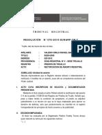 Tribunal Resol 076 2010 SUNARP TR T
