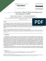 Development of Academic Economics