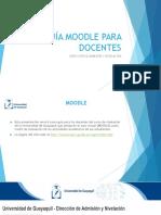 Presentación MOODLE (Universidad de Guayaquil)