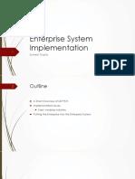 Session 7-8- Enterprise System Implementation