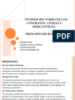 Principios Rectores de Los Contratos Civiles y Mercantiles