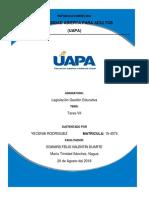 Tarea Vii. de La Profesionalización, El Estatuto y La Carrera Docente (1) (1)