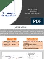 Rheology of Fluid Food Products