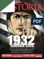 Revista Aventuras Na História- 1932 Guerra Civil