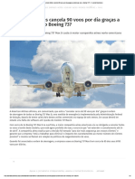 American Cancela Voos Com o Boeing