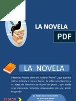 LA NOVELA. 4 BÁSICO.ppt