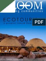 Ecotourism (Nambia 2030)