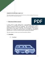 MotorCaravan Types and Fuel Consumption