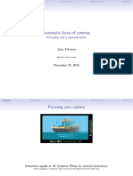 Automatic focus of cameras Principles and a demonstration.pdf