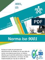 Comparación Normas Iso (9001-14001-18001-17025)