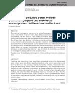 La Curiosidad Del Jurista Persa. Método y Metodología Para Una Enseñanza Emancipadora Del Derecho Constitucional