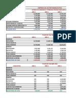 Egp Proyectado y Flujo de Caja Con Deficit Clase