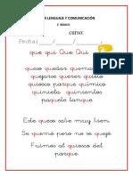 GUIA 2° básico QU