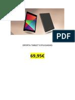 Tablet Lenovo 10 Pulgadas 1