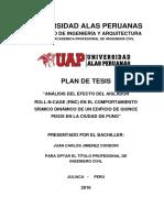 2016 Plan de Tesis Ing. Civil - Analisis del efecto del aislador.pdf