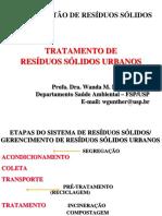 AULA 8 - Tratamento Residuos Solidos Urbanos