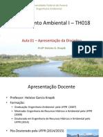 Saneamento Ambiental I