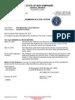 Maravelias 2/4/19 Lawsuit-Initiating Defamation Complaint against Amy Anderson