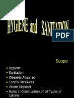 Hygiene and Sanitation1
