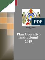 PLAN  OPERATIVO INSTITUCIONAL 2019.pdf