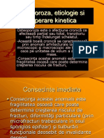 Osteoporoza, Etiologie Si Recuperare Kinetica