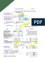 Calculo de Fuerzas de Viento en Excel