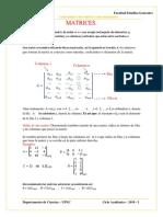 h. Teoria. Matrices